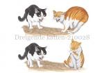 Dreigende katten-210028