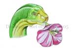 Dinosarier met oerbij-140005