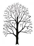 Gewone es-silhouet-winter-182505